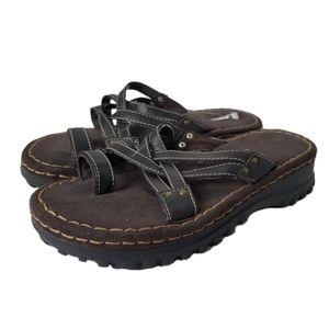 Vintage Lower East Side Chunky Platform Sandals
